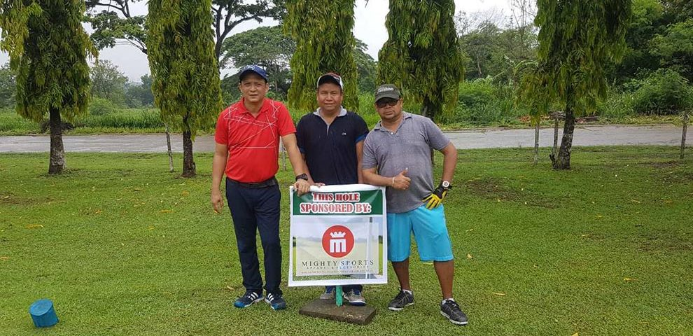 mighty sports sponsors golf tournament