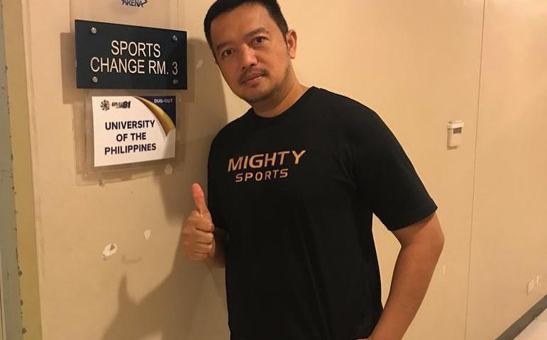 coach bo perasol mighty sports up fighting maroons