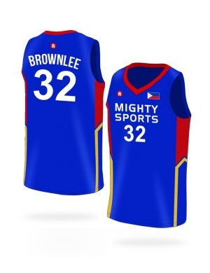 mighty sports justin brownlee 32 jersey