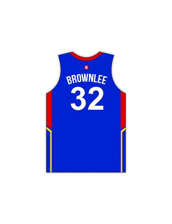 mighty sports justin brownlee 32 jersey back
