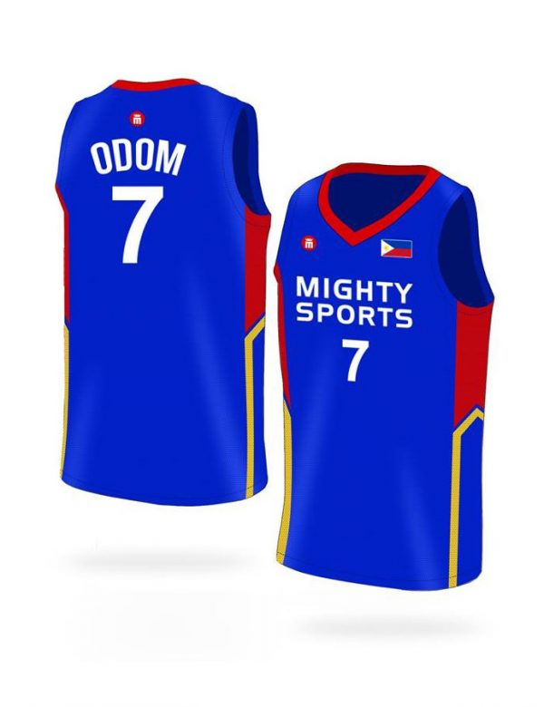 mighty sports lamar odom 7 jersey