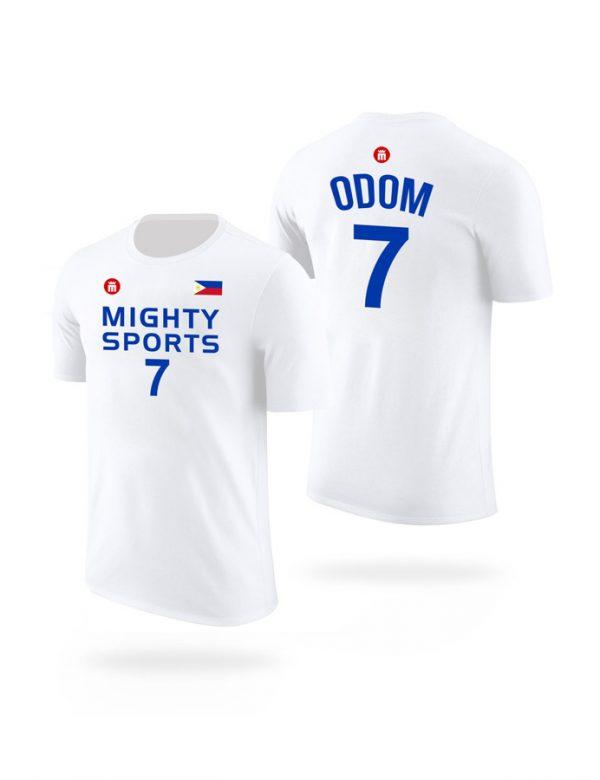 mighty sports lamar odom tee white