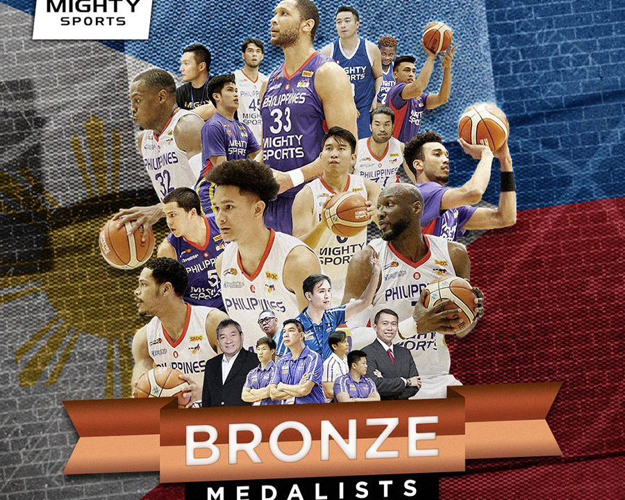 Mighty Sports-Philippines bags the bronze medal in the 30th Dubai International Basketball Championship | caesar wongchuking, alexander wongchuking, dr. edwin john sy