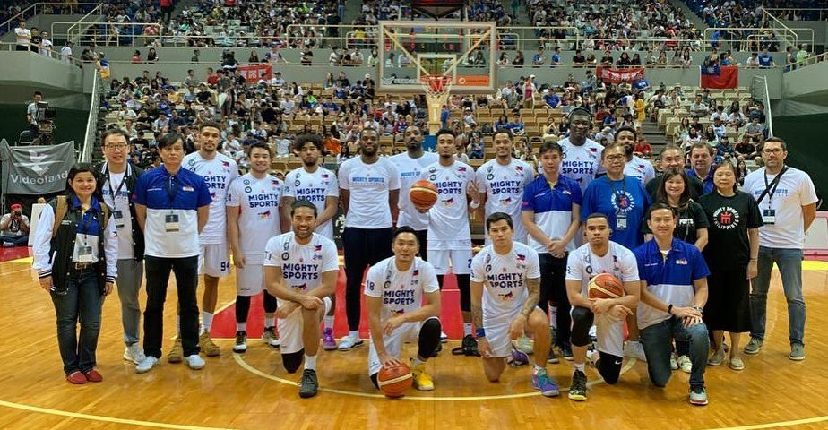 mighty sports-go for gold philippines william jones cup 2019 champions team photo