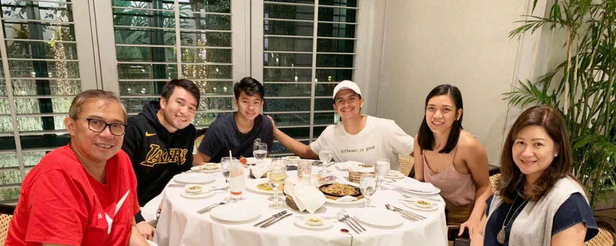 kiefer ravena send off dinner mighty sports
