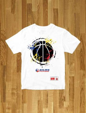 mighty sports x gilas pilipinas bola tee white
