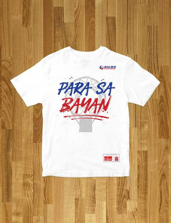 mighty sports x gilas pilipinas para sa bayan tee