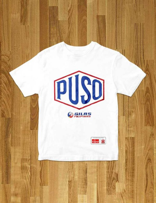 mighty sports x gilas pilipinas puso hex tee white