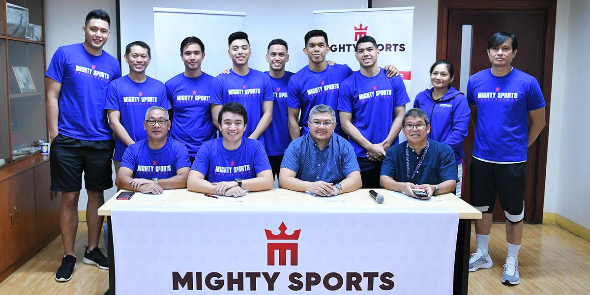 mighty sports partners with the ateneo blue eagles for uaap season 82