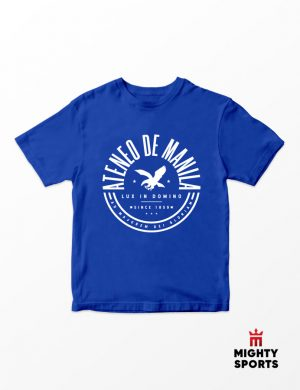 mighty sports x ateneo amdg tee front