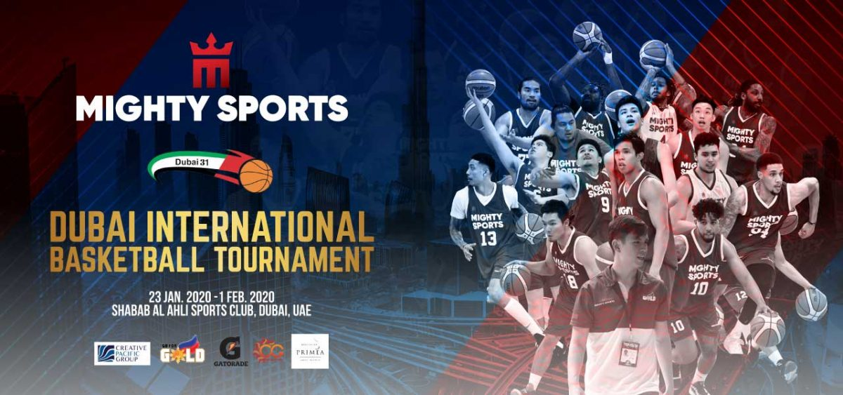 mighty sports dubai 2020 official lineup