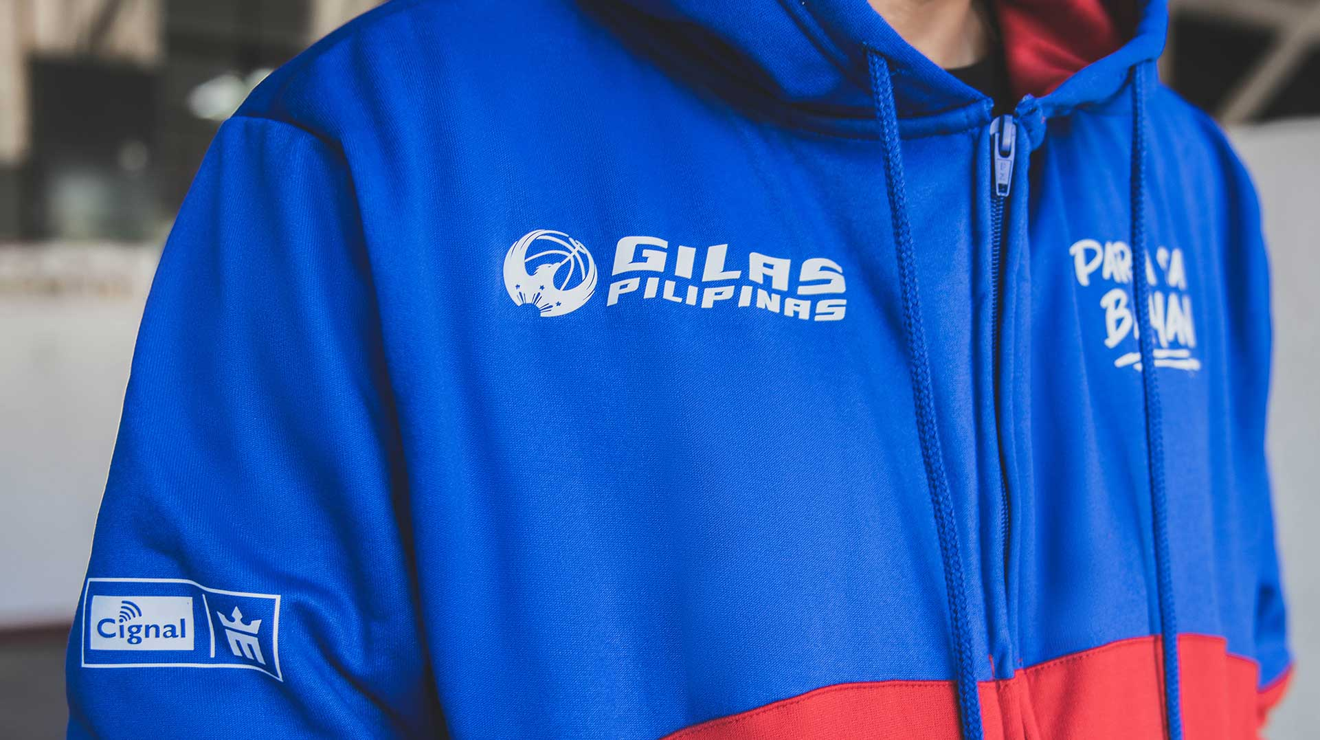 mighty sports GILAS PILIPINAS hoodie banner