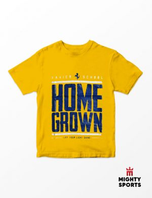 xshop xavier school homegrown tee yellow