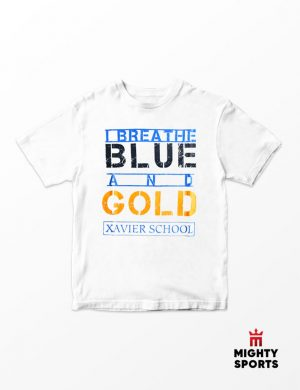 xshop xavier school i breathe tee