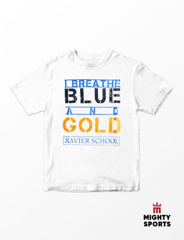 xshop xavier school i breathe tee